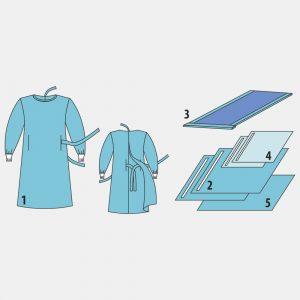 Комплект белья для общей хирургии