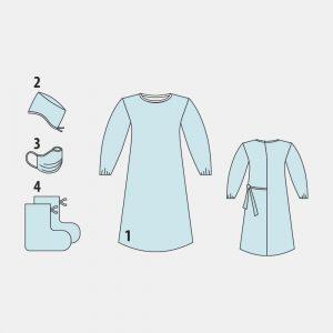 Комплект одежды для хирургов