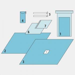 Комплект для операций на верхних (нижних) конечностях