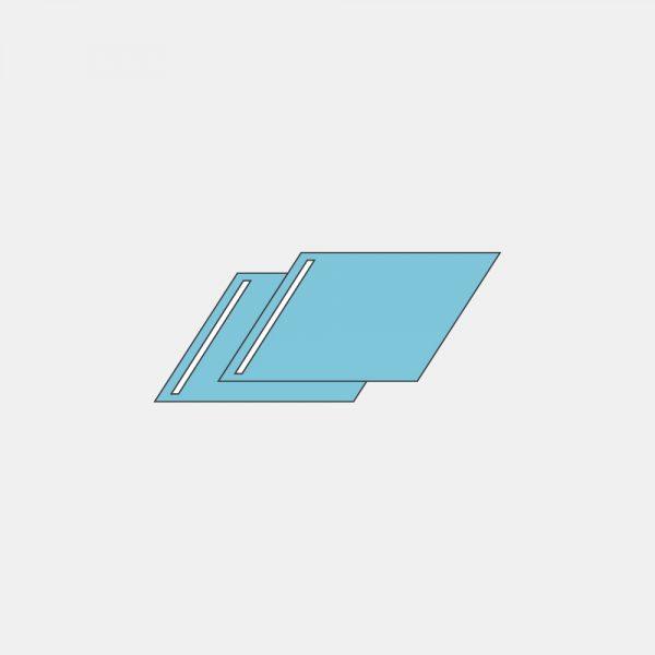 Простыня операционная с адгезивным краем различных размеров